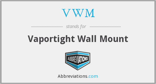VWM - Vaportight Wall Mount