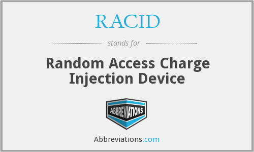 What does RACID stand for?