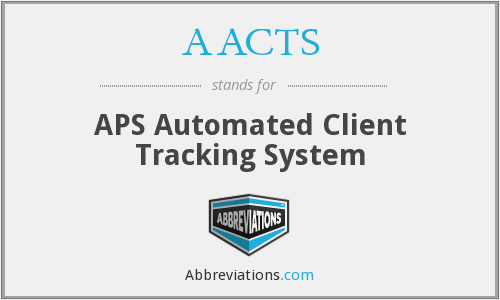 AACTS - APS Automated Client Tracking System