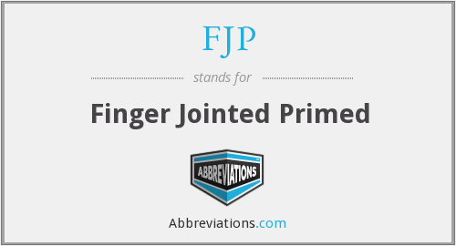 FJP - Finger Jointed Primed