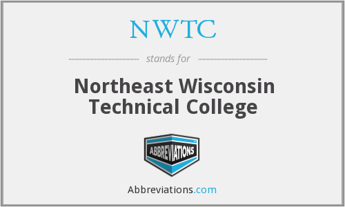 What does NWTC stand for?