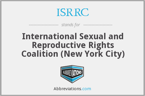 What does ISRRC stand for?