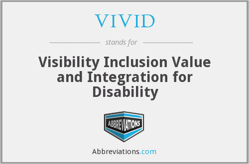 What does VIVID stand for?