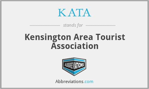 KATA - Kensington Area Tourist Association