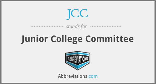 JCC - Junior College Committee