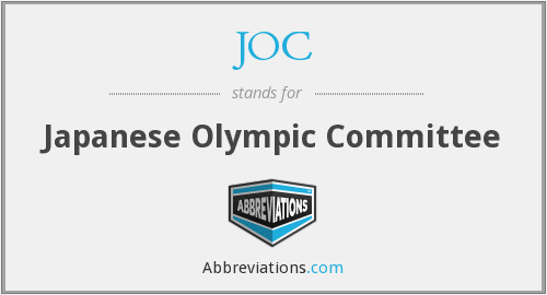 JOC - Japanese Olympic Committee