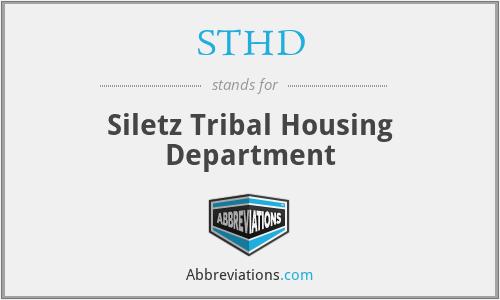 STHD - Siletz Tribal Housing Department