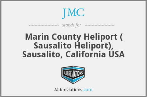 JMC - Marin County Heliport ( Sausalito Heliport), Sausalito, California USA