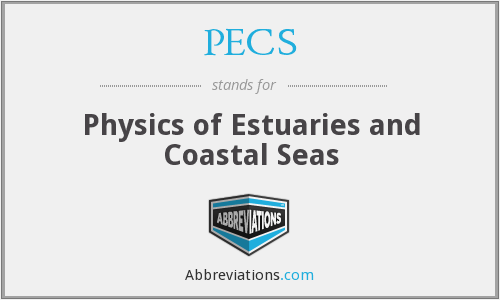 PECS - Physics of Estuaries and Coastal Seas