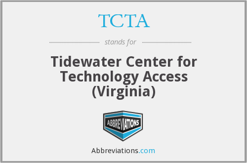 TCTA - Tidewater Center for Technology Access (Virginia)
