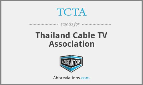 TCTA - Thailand Cable TV Association