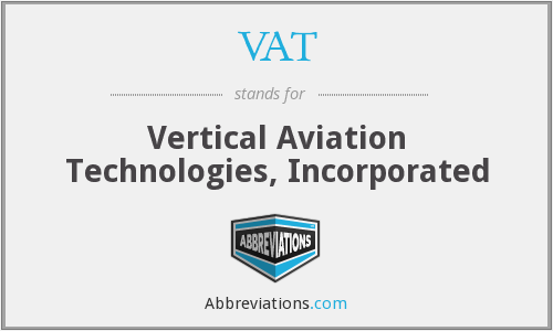 VAT - Vertical Aviation Technologies, Inc.