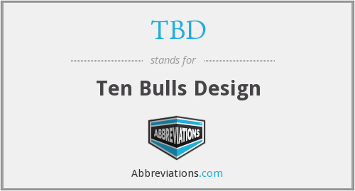 TBD - Ten Bulls Design