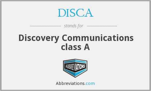 What does DISCA stand for?