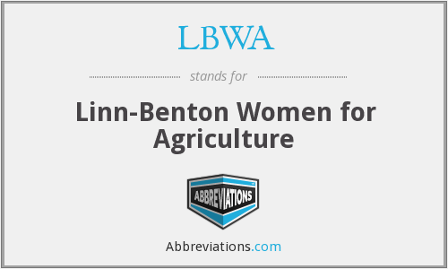 LBWA - Linn-Benton Women for Agriculture