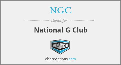 NGC - National G Club