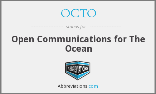 OCTO - Open Communications for The Ocean