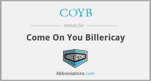 COYB - Come On You Billericay