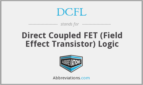 What does DCFL stand for?
