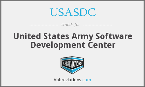 USASDC - United States Army Software Development Center