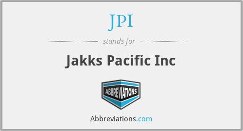 JPI - Jakks Pacific Inc