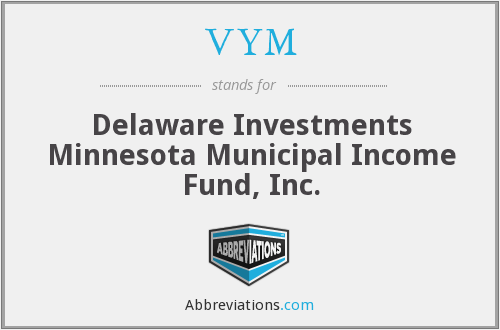 VYM - Delaware Investments Minnesota Municipal Income Fund, Inc.