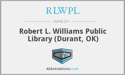 What does RLWPL stand for?