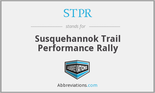 STPR - Susquehannok Trail Performance Rally