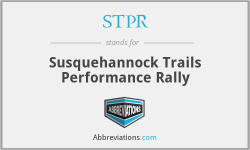 STPR - Susquehannock Trails Performance Rally