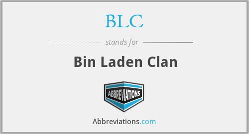 BLC - Bin Laden Clan