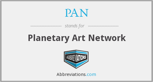 PAN - Planetary Art Network