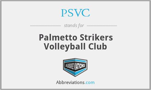 PSVC - Palmetto Strikers Volleyball Club