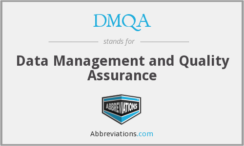 What does DMQA stand for?