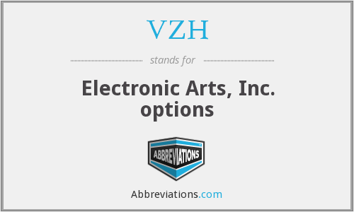 VZH - Electronic Arts, Inc. options