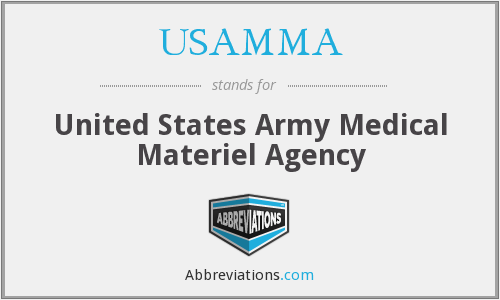 What does USAMMA stand for?