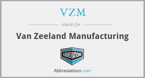 VZM - Van Zeeland Manufacturing