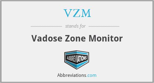 VZM - Vadose Zone Monitor