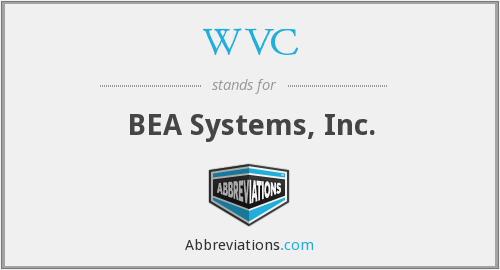 WVC - BEA Systems, Inc.