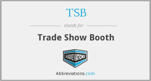 TSB - Trade Show Booth