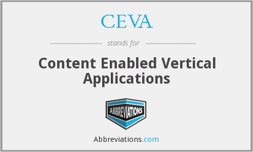 CEVA - Content Enabled Vertical Applications