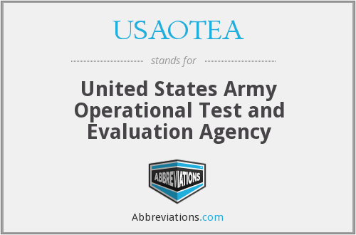 What does USAOTEA stand for?