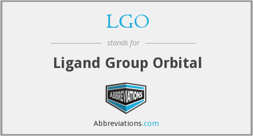 LGO - Ligand Group Orbital