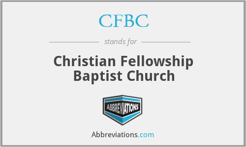 CFBC - Christian Fellowship Baptist Church