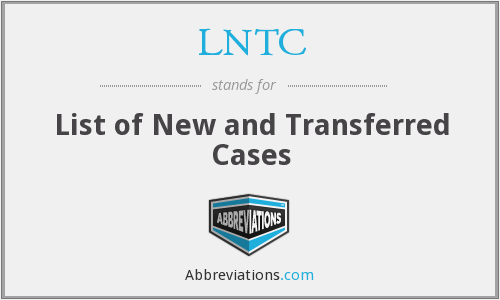 What does LNTC stand for?