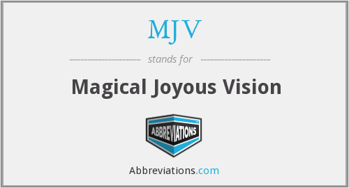 What does joyous stand for?