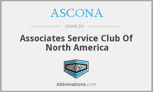 What does ASCONA stand for?