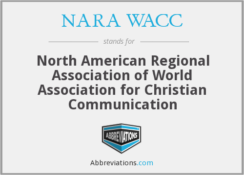 What does NARA WACC stand for?