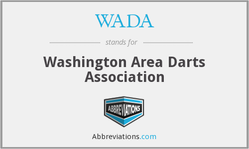 WADA - Washington Area Darts Association