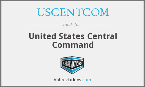 What does USCENTCOM stand for?