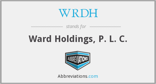 What does WRDH stand for?